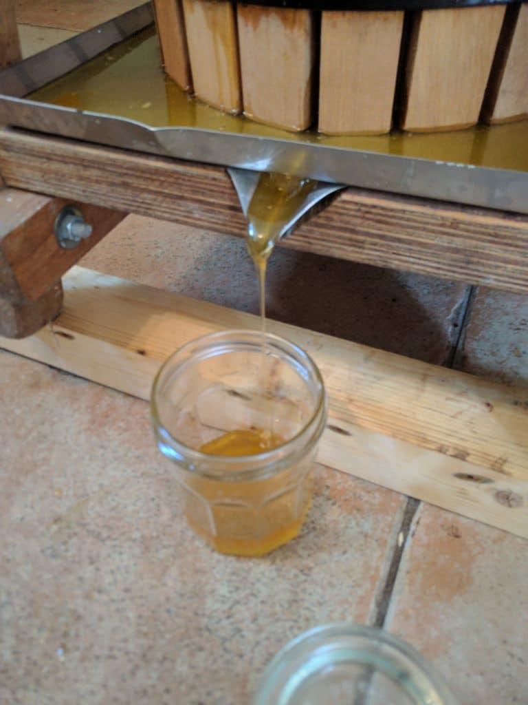 Persen van honing